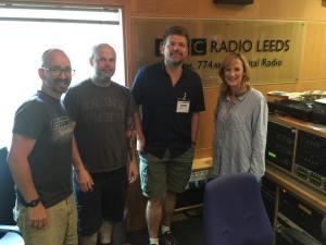 Chris BBC Radio Leeds July 2016